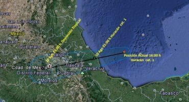 Alerta roja en Veracruz por