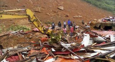 Ya son casi 400 muertos y 600 desaparecidos en Sierra Leona por lluvias