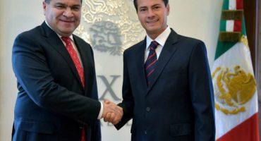 ¿Y el rebase de gastos de campaña? EPN ya felicitó a Riquelme por
