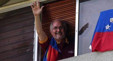 Venezuela: Antonio Ledezma y Leopoldo López regresan a sus hogares