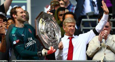 ¡Arsenal levanta el primer título del año en el Community Shield!