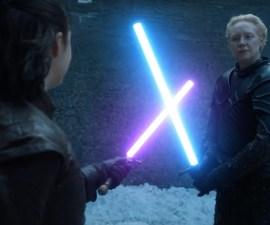 Arya vs Brienne - Sables de luz