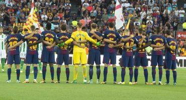 ¡Súper emotivo! El homenaje del Barcelona a las víctimas de Las Ramblas