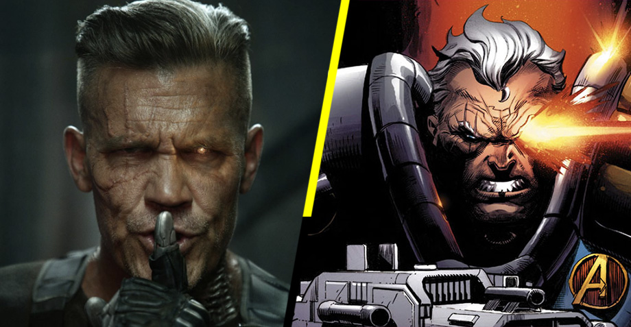 Josh Brolin como Cable en Deadpool 2