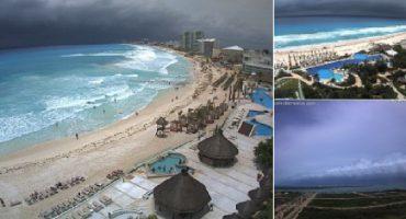 Alerta roja en Quintana Roo, tormenta