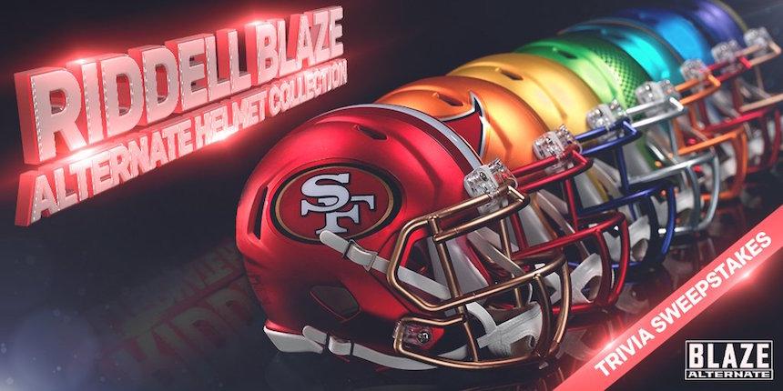 ¡Checa los cascos alternativos que sacó la NFL para esta temporada!