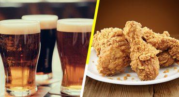 ¿Alguien pidió receta secreta?: Sacan una cerveza con sabor a... ¡pollo frito!