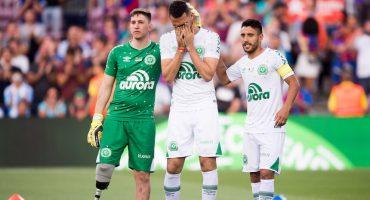 Las emociones se apoderan del Camp Nou en el Barca vs Chapecoense
