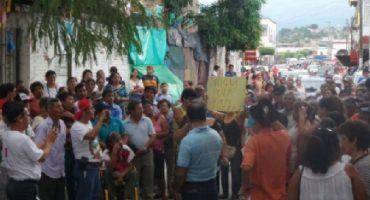 Exigen liberación de detenidos tras manifestaciones contra EPN en Chiapa de Corzo