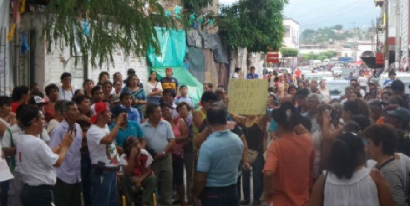 Manifestación en Chiapa de Corzo