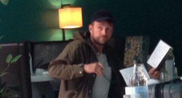 Damon Albarn fue visto en la Condesa y la gente EN-LO-QUE-CIÓ