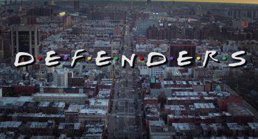 ¡Un genio hizo un intro de The Defenders al estilo Friends!