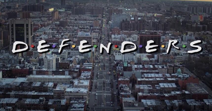 Defenders - intro al estilo Friends