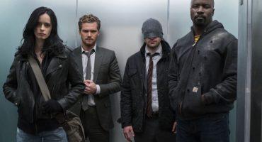 Cuatro héroes de Marvel se unen en el nuevo tráiler de The Defenders