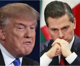 Enrique Peña Nieto y Donald Trump