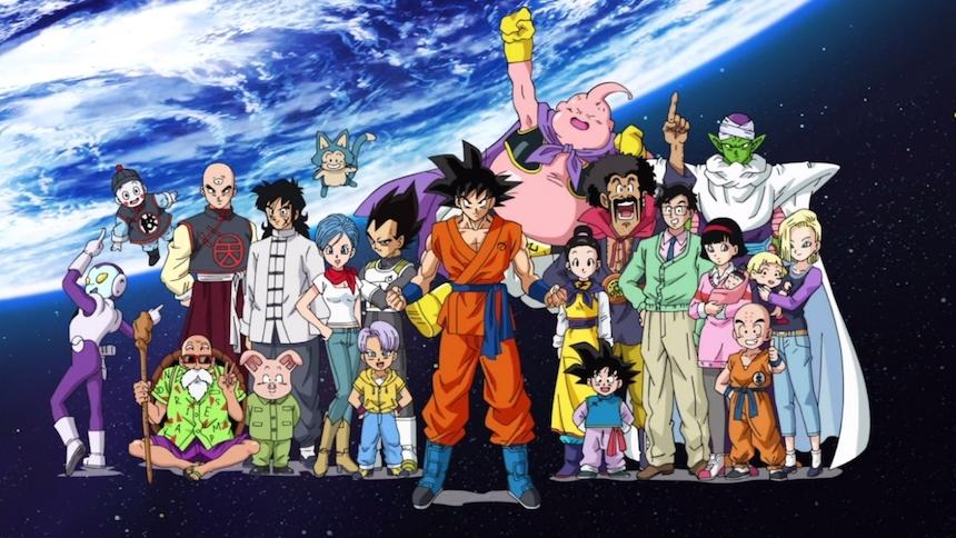 Dragon Ball Super - Personajes