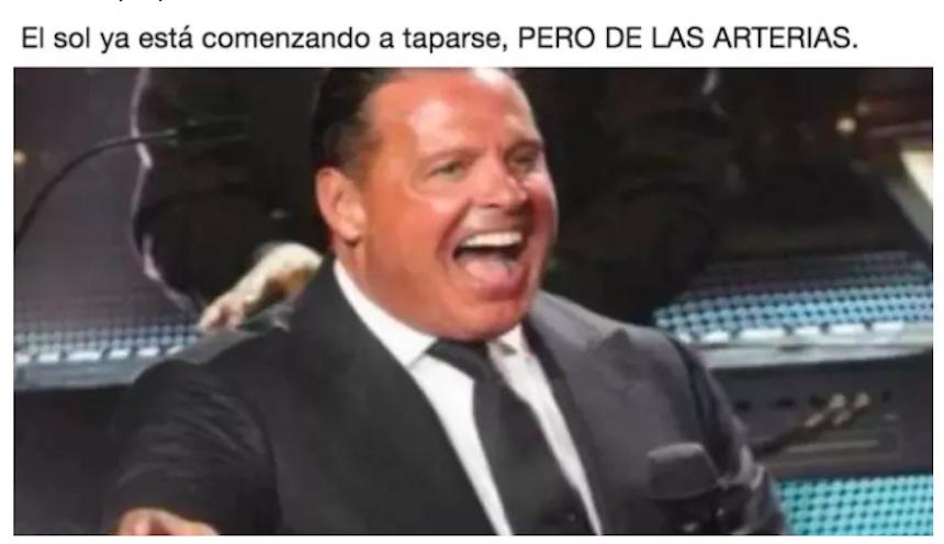 Memes del eclipse - Luis Miguel
