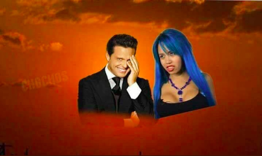 Memes del eclipse - Luna Bella y Luis Miguel