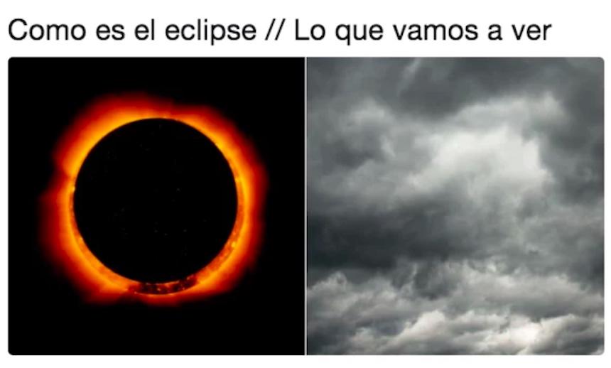 Memes del eclipse solar