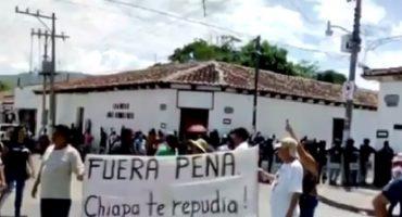 Detienen a tres personas que participaron en protestas contra EPN en Chiapas