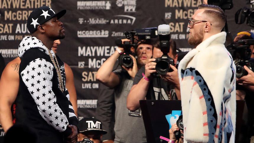 Los boletos de la pelea Mayweather vs McGregor no se están vendiendo nada bien
