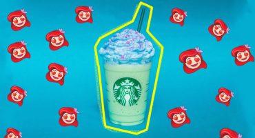¡Starbucks lanza su Mermaid Frappuccino y el internet enloqueció!