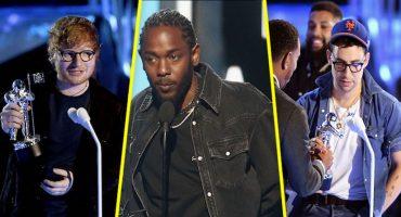 ¡Kendrick Lamar, el gran ganador de los MTV VMAs 2017!