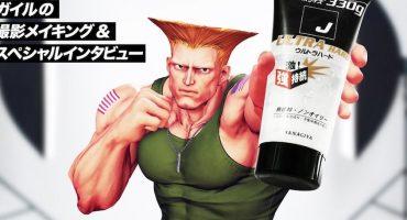 ¡Con este gel japonés pueden peinarse como Guile de Street Fighter!