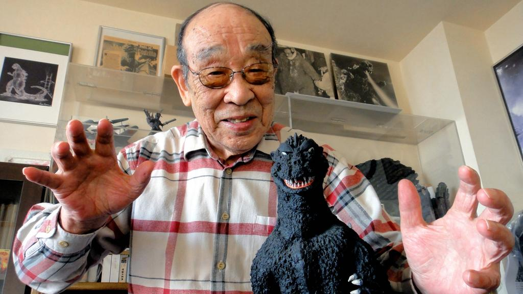 Murió Haruo Nakajima, el hombre que dio vida al primer Godzilla