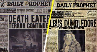 Los periódicos que se usaron en Harry Potter están a la venta
