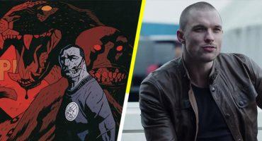 Ed Skrein saldrá en Hellboy