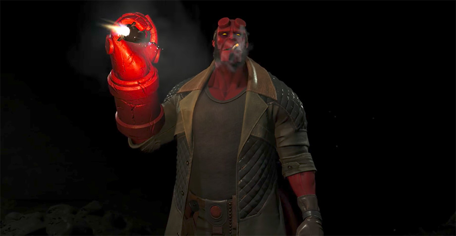 Hellboy en Injustice 2