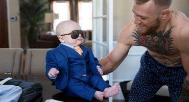 ¡Mueran de ternura con el traje del hijo de Conor McGregor!