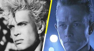 ¡Billy Idol casi interpreta al androide T-1000 en Terminator 2!