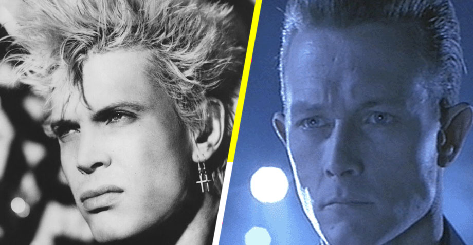 Billy Idol como T-1000 - Terminator 2