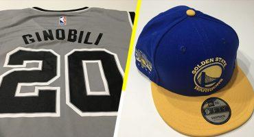 ¡Gánate un jersey de Ginóbili o una gorra de los Warriors!