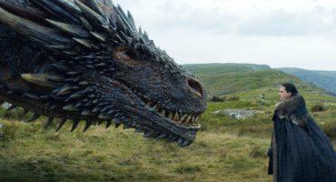 ¿Por qué todos están hablando de Kit Harrington y su imitación dragón?