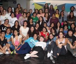 Alumnas de cuarta generación de Laboratoria en México