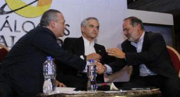 Mancera, Beltrones y Madero apuestan por gobierno de coalición para 2018