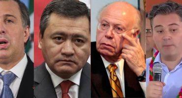 Meade, Osorio Chong, Nuño y Narro... los