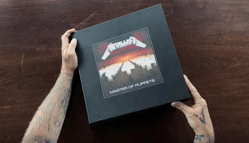 Metallica celebra 30 años de 'Master of Puppets' con este enorme box set