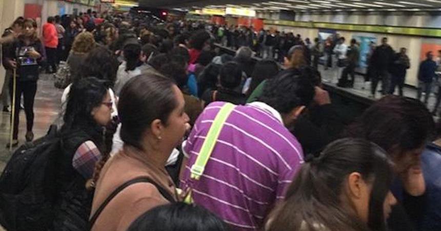 Metro Línea 3 fallas