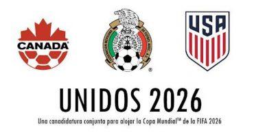 Ahora sí: México, EEUU y Canadá presentan candidatura para el Mundial ante FIFA