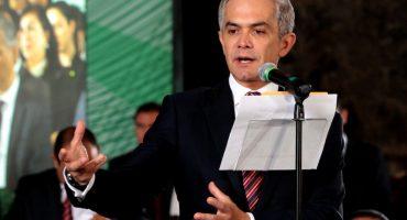 La mejor noticia del año: Mancera dejará el gobierno de la CDMX