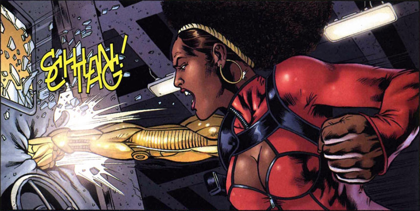 Misty Knight Marvel Cómics