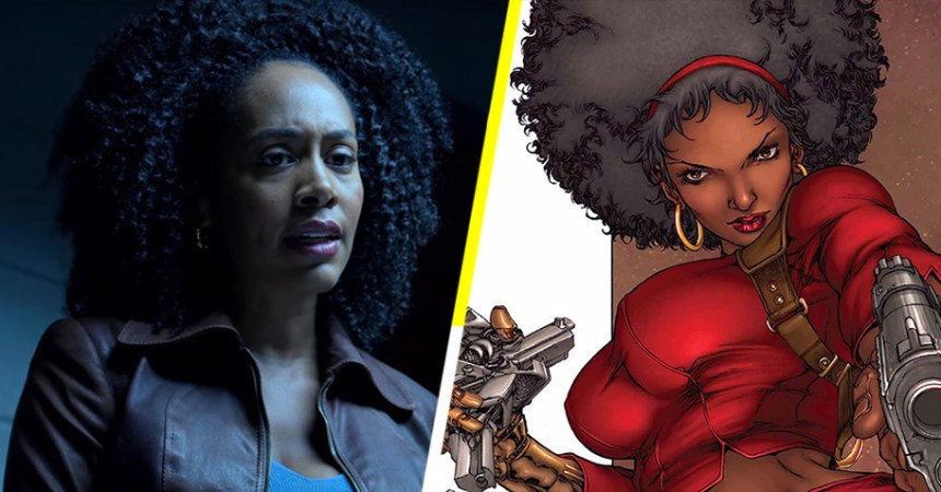 Misty Knight en Luke Cage