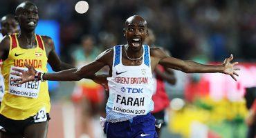 Crece la leyenda: Mo Farah gana los 10 mil metros planos por última vez