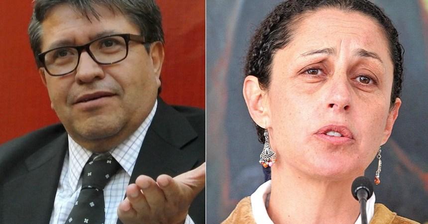 Ricardo Monreal y Claudia Sheinbaum