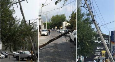 En la nota gandalla del día: camionero deja sin luz a hospital por chocar