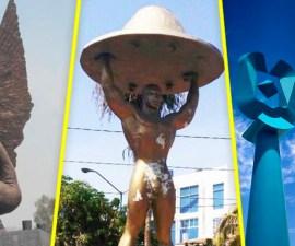 Monumentos malinterpretados en Internet - México